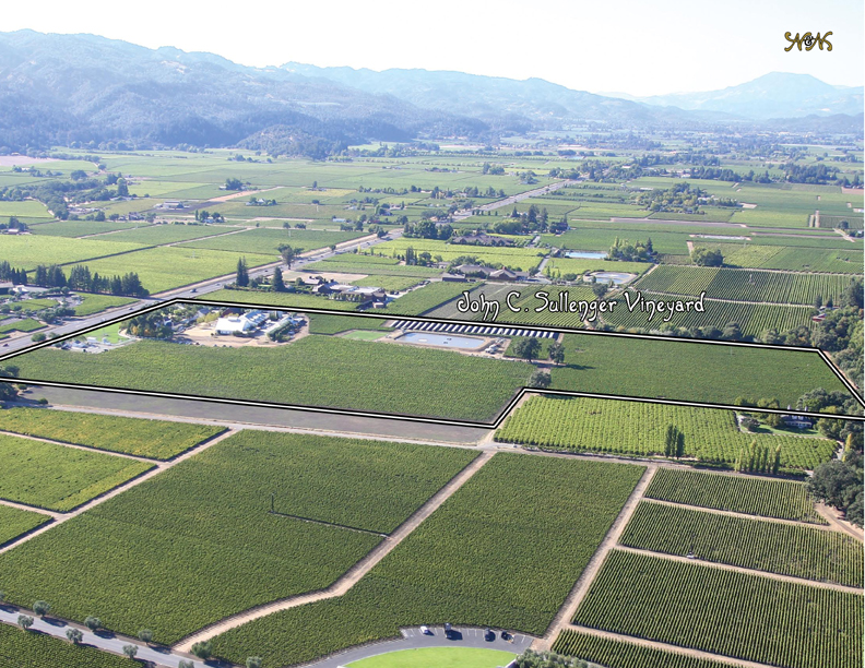 Sullenger Vineyard Aerial