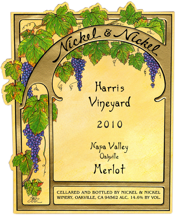 2010 Nickel & Nickel Harris Merlot