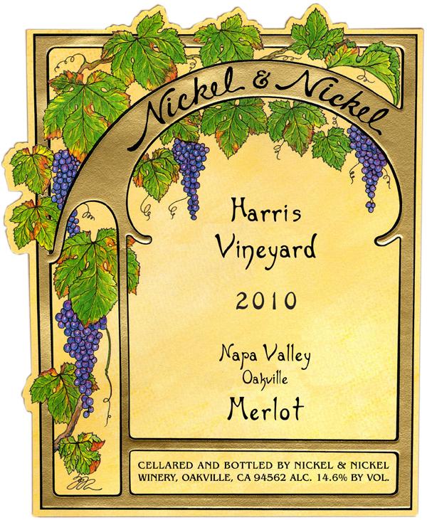 2010 Nickel & Nickel Harris Merlot