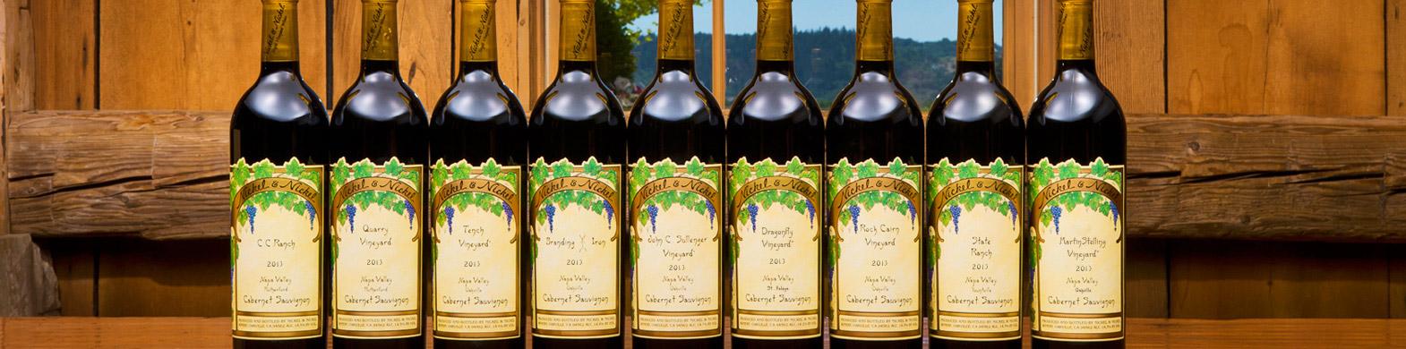 Single Vineyard Wines: Header