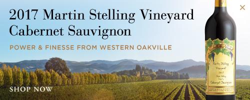 2017 Martin Stelling Vineyard Cabernet Sauvignon Power & Finesse From Western Oakville